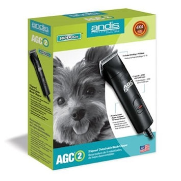 Andis Pro AGC-2 AGC2 With EXTRA BLADE Dog Grooming PROFESSIONAL PRO Clipper 2-Speed Black