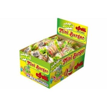 Gummi Sour Mini Burgers