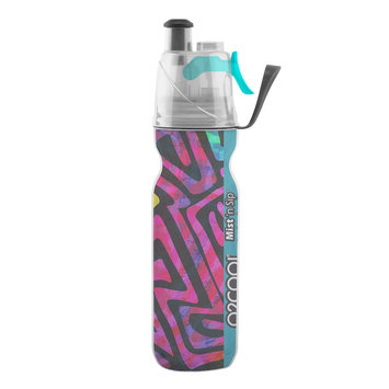O2COOL Mist 'N Sip Arctic Squeeze Artist 20-oz. Insulated Water Bottle, Multi/None