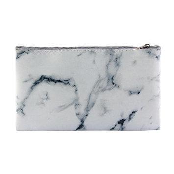 Jocestyle Zipper Marbling Makeup Brush Storage Bag Cosmetic Handbag Beauty Tool Pouch