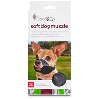 Good2Go Nylon & Mesh Dog Muzzle, X-Small
