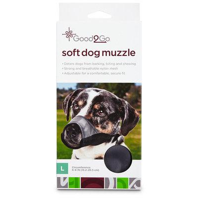 Good2Go Nylon & Mesh Dog Muzzle, Large