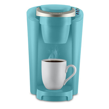 Keurig K-Compact Single-Serve K-Cup Pod Coffee Maker, Turquoise