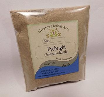 Niyama Herbal Arts Eyebright Powder, Premium Quality (4 ounce)