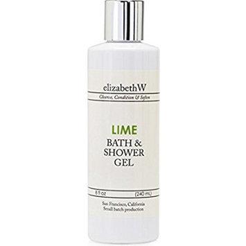 elizabethW Lime Bath and Shower Gel