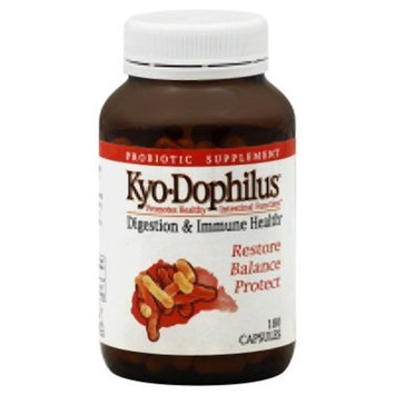 Kyo-Dophilus Digestion & Immune Health Probiotic Supplement (180 Capsules) Soy- Gluten-Free, Digestive Health Support