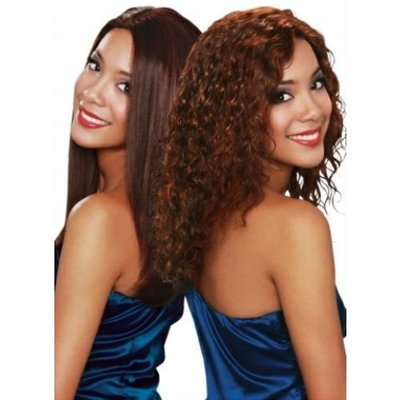 Bobbi Boss 100% Indian Human Hair Wet & Wavy Weave - Sweet Curl (12 INCH, 1 - JET BLACK)