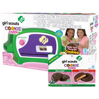 Wicked Cool Toys Girl Scouts Deluxe Cookie Oven with Thin Mint and Chocolate Peanut Butter Deluxe Refill Kit