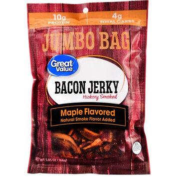 Great Value Hickory Smoked Bacon Jerky