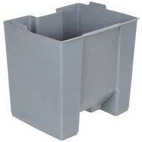 Rubbermaid Commercial FG624500GRAY Rigid Liner for Rubbermaid 6145 Step-On Container