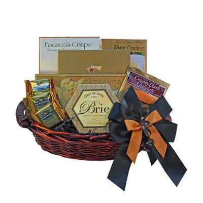 With Heartfelt Sympathy Gourmet Food Gift Basket, Medium (Candy)