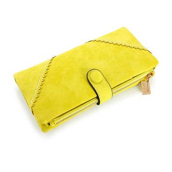Fashion Lady Button Women Long Leather Wallet Pocket Purse Clutch Card Holder Handbag Bag