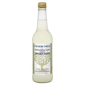 Fever Tree Naturally Light Ginger Beer (500ml) - Pack of 2
