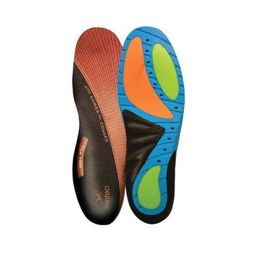 Men's Custom Select Low Arch Insert in Multi Colored Size: 6