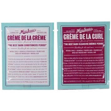 Miss Jessie's Creme De La Curl Travel Set (Cleansing Creame & Conditioning Creme) by Miss Jessie's