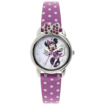 M.z. Berger & Company Minnie Mouse Analog Polka Dot Watch
