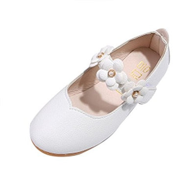 For 1-6 Years Old Girls,Clode® Cute Kids Baby Girls PU Leather Flower Rubber Hard Sole Sneaker Loafer Casual Shoes