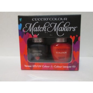 Cuccio Nail Colour Veneer Uv Colour & Colour Lacquer Kit Shaking My Morocco