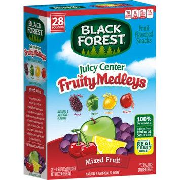 Black Forest Fruit Snacks, Fruit Medley, 0.8 Oz, 28 Ct