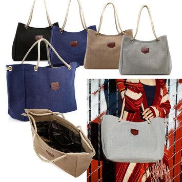 Women Lady Fashion Tote Canvas Shoulder Bags Hobo Messenger Handbag Bag Purse