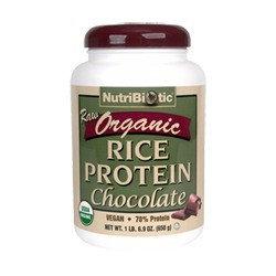 Nutribiotic - Organic Raw Rice Protein Chocolate - 1.69 lbs.