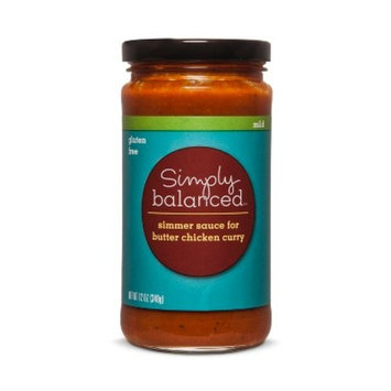 Butter Chicken Sauce 12oz - Simply Balanced™