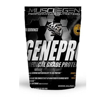 GENEPRO Medical Grade Protein 60 Servings, by Musclegen Research - Premium Protein for Absorption