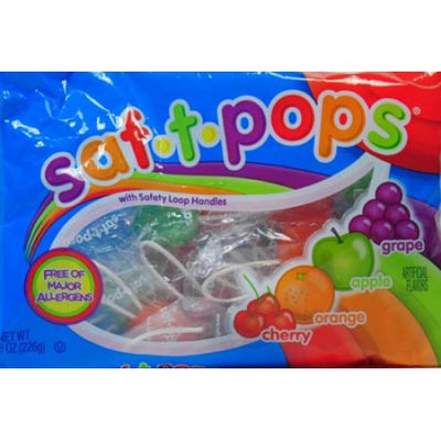 Saf-T-Pops 4-8 oz bags (Pack of 12)