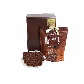 Sheila G's Brownie Brittle Salted Caramel Rich Taste with a Cookie Crunch, 16 Ounce (Packaging May Vary)
