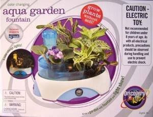 Discovery Kids Color Changing Aqua Garden Fountain