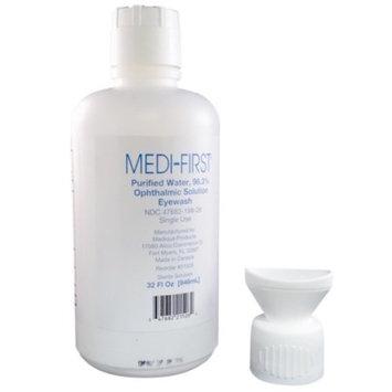 Medique Medi-First Sterile Eye Wash 32 oz Bottle 2 Count