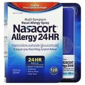 Nasacort Allergy 24 Hour Spray , 120 Sprays 0.57 fl oz
