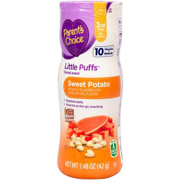 Parent's Choice Sweet Potato Little Puffs Cereal Snack