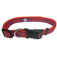 Clemson Tigers Dog Collar