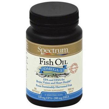 Spectrum Essential Oil Fish Omega-3, 1000mg, 100ct