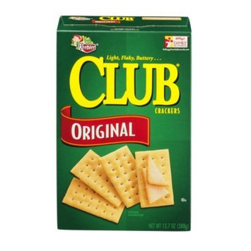 Keebler Club Crackers Original, 13.7 Oz. (Pack of 4)