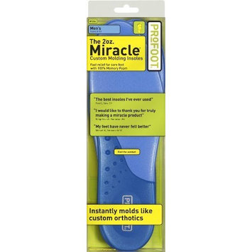 Profoot 2oz. Miracle Custom Molding Insoles, Men's 8-13, 1 Pair Personal Healthcare / Health Care