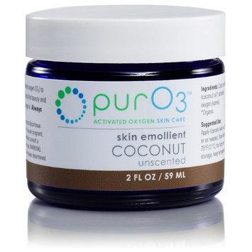 Ozonated Coconut Oil Skin Emollient PurO3 2 oz Cream