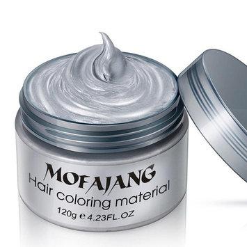 Creazy 2017 DIY Hair Clay Wax Mud Dye Cream Grandma Hair Ash Dye Temporary 7 Colors