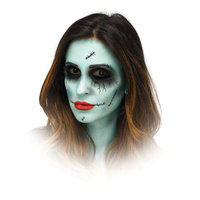 Dead Dolly Halloween Makeup Kit By Fun World