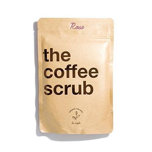 The Coffee Scrub - 100% Organic & Natural Recipe [Rose]