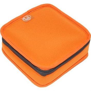 Ecocozie E1S02S03 Reusable Square Food Container - Sunkissed Orange