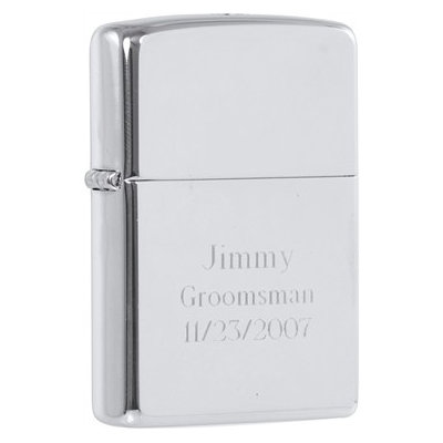 Zippo 250 High Polish Chrome Finish Lighter