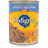 Pedigree® Traditional Ground Dinner Chicken & Beef Canned Puppy Food