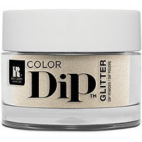 Red Carpet Manicure Color Dip Silver & Gold Nail Powder