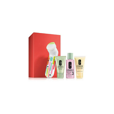 Clinique Clean Great Set For Oilier Skin