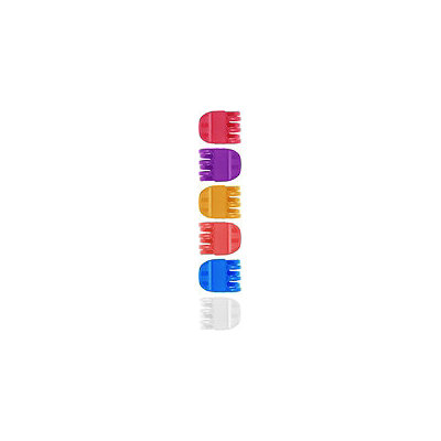Capelli New York Shiny Solid Colored Claw Clips