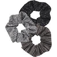 Scunci Classic Textured Scrunchies