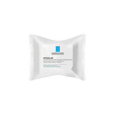 La Roche-Posay Effaclar Clarifying Oil-Free Cleansing Towelettes Facial Wipes