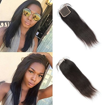Vanessa Queen Natural Straight Closure Virgin Hair Free Part 4